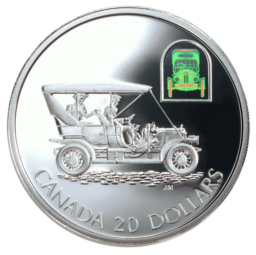 2001 20 Silver Coin The Russell Model L Touring Car