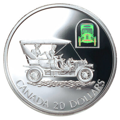 "$20 2001 Silver Coin - The Russell ""Light Four"""