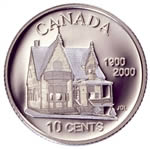 10c 2000 Silver Coin - 100th Anniversary of the Birth of the Credit Unions in North America