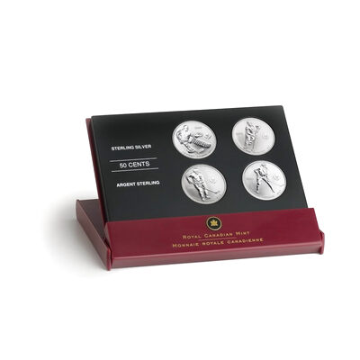 50c 2005 Silver Coin Set - NHL Hockey Legends - Toronto Maple Leafs