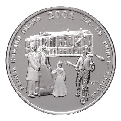 50c 2001 Canadian Festivals Series - PEI Festival of the Fathers