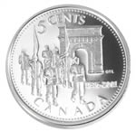 5c 2001 Silver Coin - Royal Military College of Canada