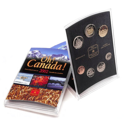 2002 Oh! Canada Gift Set