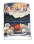 1998 'Oh Canada!' Uncirculated Coin Set
