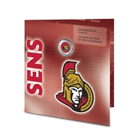 10 Units - 2008 Ottawa Senators Commemorative Coin Set with Colourised Dollar