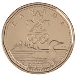 $1 2004 Special Edition Uncirculated Lucky Loonie