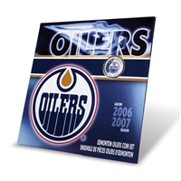 2007 Coin Set - 2006/2007 NHL Season Coin Sets - Edmonton Oilers