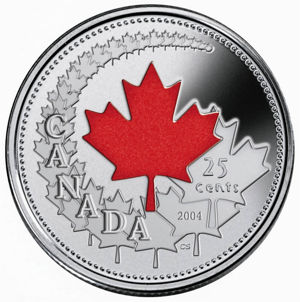 25c 2004 Canada Day Royal Canadian Mint Coins