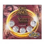 2002 The Lord of the Rings: The Two Towers Medallion & Sticker Set