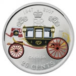 25c 2007 Commemorative Coin - 60th Wedding Anniversary Elizabeth II and Prince Philip