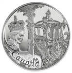 $1 2002 Proof Silver Coin - 50th Anniversary of Queen Elizabeth II's Accession to the Throne