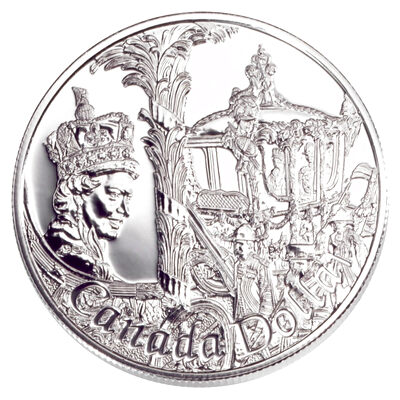 $1 2002 Brilliant Uncirculated Silver Coin - 50th Anniversary of Queen Elizabeth II's Accession to the Throne