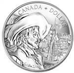 $1 2008 Brilliant Uncirculated Dollar - Celebrating the 400th Anniversary of Quebec City