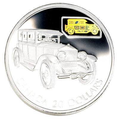 $20 2002 Silver Coin - The Gray-Dort