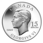 $15 2009 Vignettes of Royalty Series - King George VI