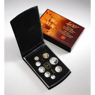 2004 Proof Set - Loon / 400th Anniversary French Settlement / Bear
