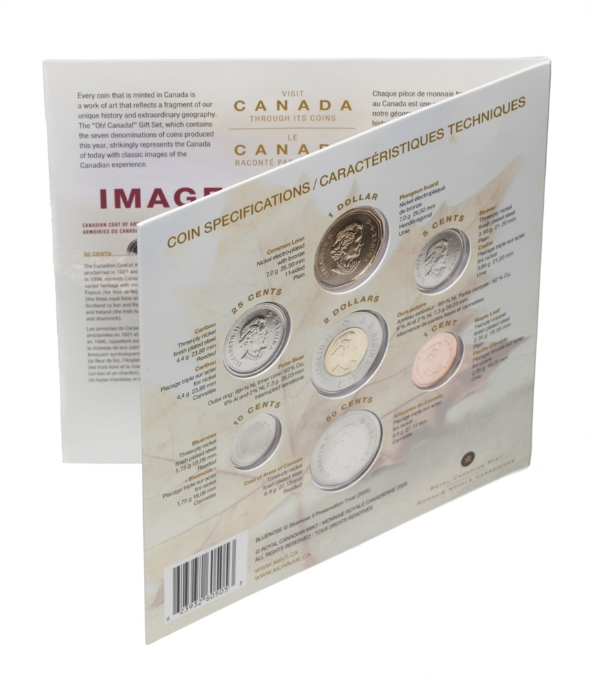 2005 Oh! Canada Gift Set | Royal Canadian Mint Coins