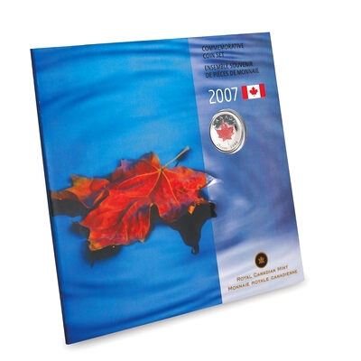 2007 Uncirculated Commemorative Coin Set - Maple Leaf
