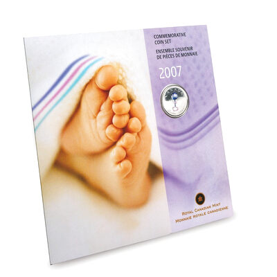 2007 Baby Commemorative Coin Gift Set - Rattle