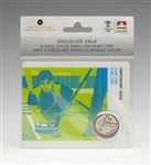 2007 25c Vancouver 2010 Olympic - Curling - Olympic Sports Card