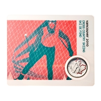 2009 25c Vancouver 2010 Cross Country Skiing - Olympic Sports Card