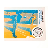 2009 25c Vancouver 2010 Figure Skating - Olympic Sports Card