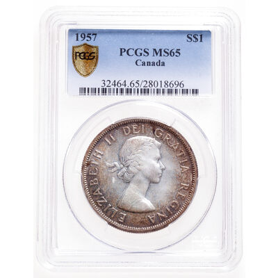 1 Dollar 1957 FWL PCGS MS-65