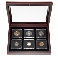 1993 Proof-Like Coin Set in Custom Mahogany Display Case