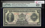 The Royal Bank of Canada $50 1927 Wilson, l. PMG VF-25