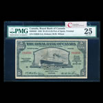The Royal Bank of Canada $5 1938  PMG VF-25