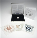 2000 The Official Millennium Keepsake Coin & Stamp