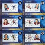 Canada Post Stamp Hockey Cards NHL All-Star Legends First Issue