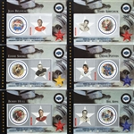 Canada Post Stamp Hockey Cards NHL All-Star Legends Second Issue