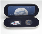 2001 Toronto Blue Jays 25th Season Stamp & Medallion Set