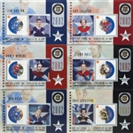 Canada Post Stamp Hockey Cards NHL All-Star Legends Third Issue