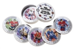 100 Units - 2003 NHL All Stars Six Collector Coasters