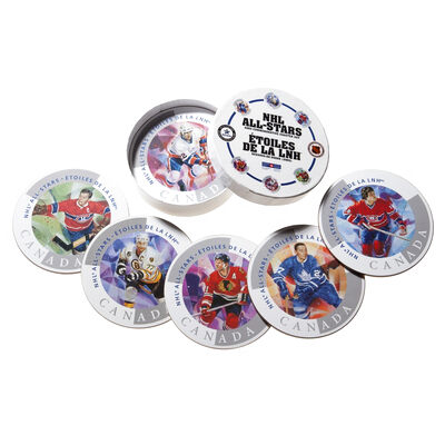 2003 NHL All Stars Six Collector Coasters