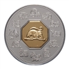 $15 2004 Silver Coin and Stamp - Year of the Monkey