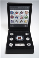 NHL® All Stars 2005 Commemorative Stamp and Medallion Set with Puck
