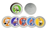 2005 NHL All Stars Six Collector Coasters