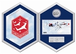 $5 2006 Silver Coin & Stamp Set - Canadian Forces Snowbirds
