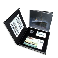 2014 50c Empress of Ireland Coin, Full-Colour Book, Stamp and Postcard Commemorative Set