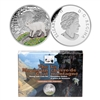 2015 $20 Fine Silver Coin and Stamp Set - Mountain Goat: Baby Animals