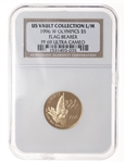 US $5 gold 1996W Ultra Cameo NGC PR-69