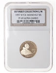 US $5 gold 1997W Ultra Cameo NGC PR-69