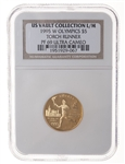 US $5 gold 1995W Ultra Cameo NGC PR-69