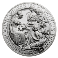 1867 Confederation Medal Re-stike - Pure Silver Piece