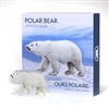 Real Shape Iconic Canada: Polar Bear - Pure Silver Piece