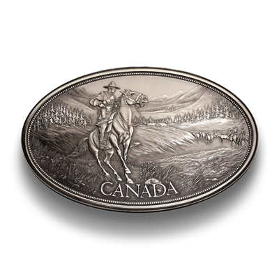 Canadian Heritage Medal Series: Legacy of the Mountie - 5 oz. Pure Silver Medal
