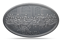 Canadian Heritage Medal Series: Fathers of Confederation - 5 oz. Pure Silver Medal